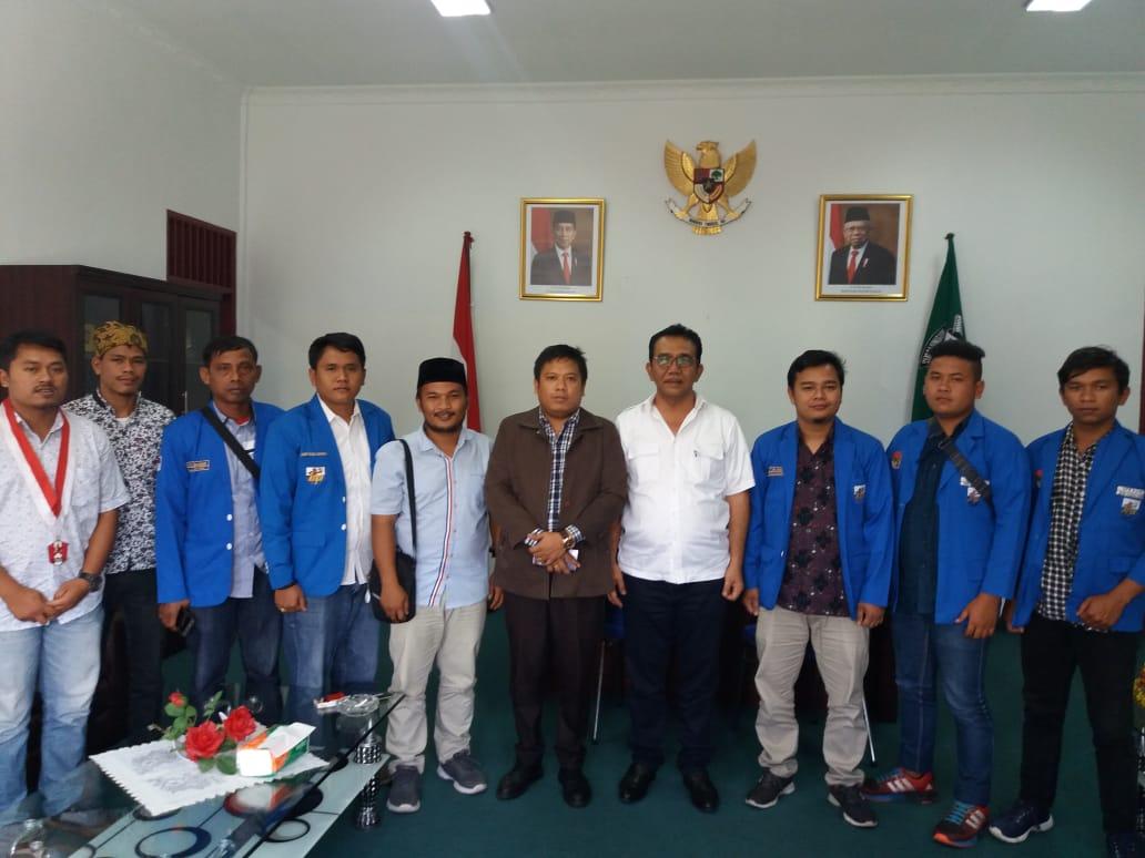 Musyawarah Daerah, DPD KNPI Simalungun lakukan Audiensi dengan Ketua DPRD Simalungun