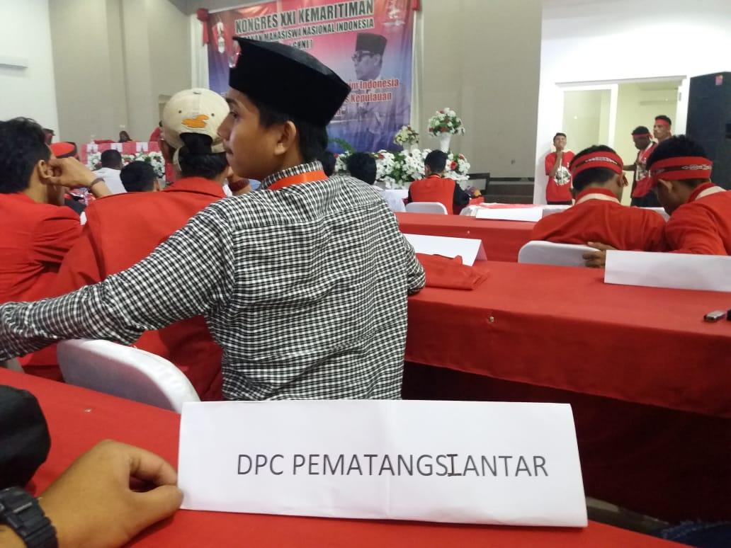 DPC GMNI Pematangsiantar mengecam keras intimidasi yang dilakukan oleh oknum saat kongres GMNI XXI Kemaritiman Ambon