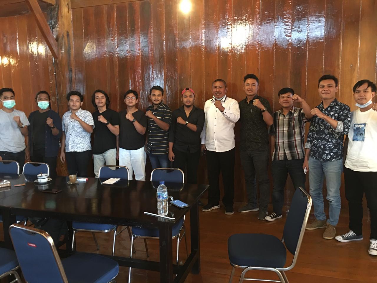 Karo : Kaum Muda Peduli Karo Deklarasi Dukung no Urut 2 Dalam Pilkada Kabupaten Karo.