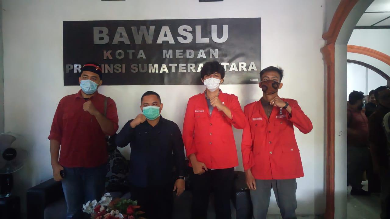 Medan : Serangan Fajar, DPC GmnI Bentuk  Satgas Menjelang Hari Pencoblosan