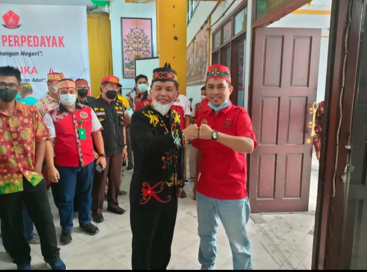 Palangkaraya : Rakornas 1 Perpadayak, ketua DPD Perpadayak Kabupaten Murung Raya serukan Sahkan RUU Masyarakat Adat