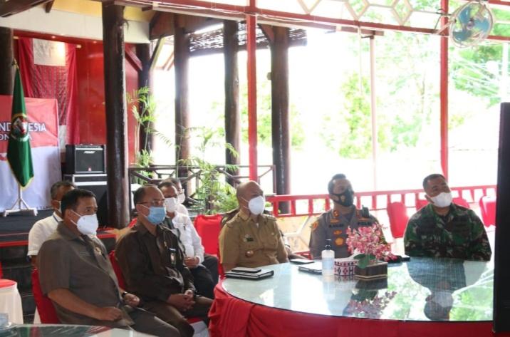 Tarutung : Bupati Tapanuli UtaraHadiri Rapat Koordinasi Kepala Daerah Seluruh Indonesia