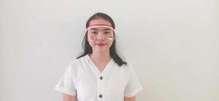 SMP President :  Aureline Rumalis :  Merdeka..!!! Dirgahayu RI Ke-76, Mengibarkan Semangat Merdeka Belajar