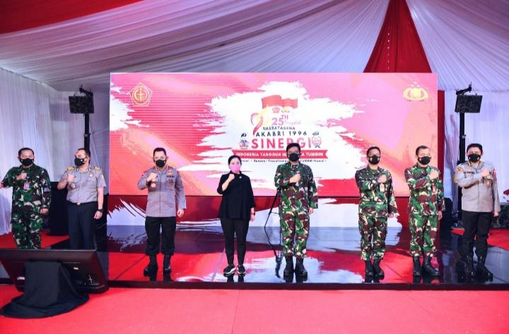 Ketua DPR RI Dr.(H.C) Puan Maharani: HUT ke-76 TNI, Puan Harap Ada Peningkatan Kesejahteraan Prajurit
