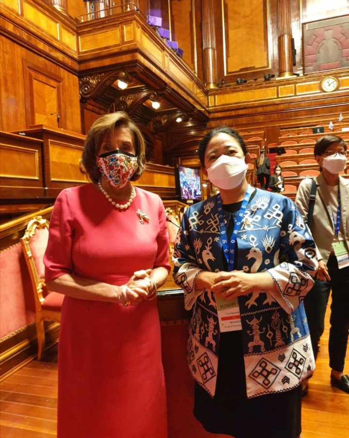 Ketua DPR RI Dr.(H.C) Puan Maharani : Bertemu Ketua DPR AS di Roma, Puan Undang Langsung Hadiri P20 di RI Tahun 2022