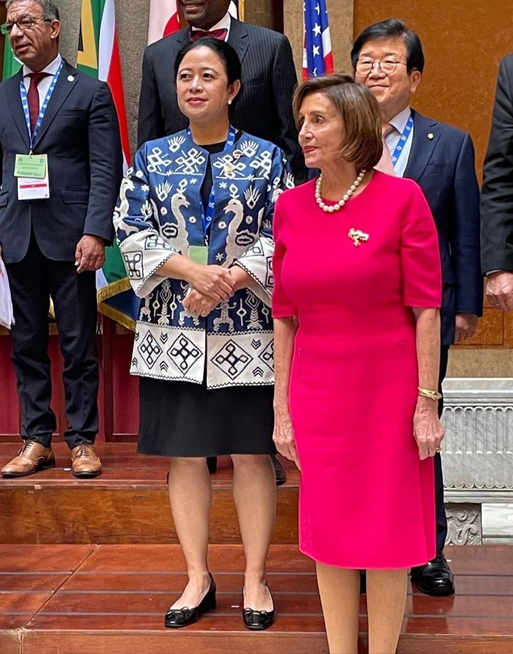 Ketua DPR RI Dr.(H.C) Puan Maharani : P20 Italia, Puan Sampaikan DPR RI Siap Jadi Tuan Rumah 2022