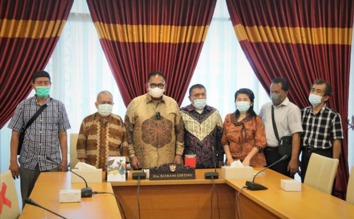 DPRD SUMUT : Sambangi Ketua DPRD Sumut Pertuni Minta Rampungkan Perda Disabilitas